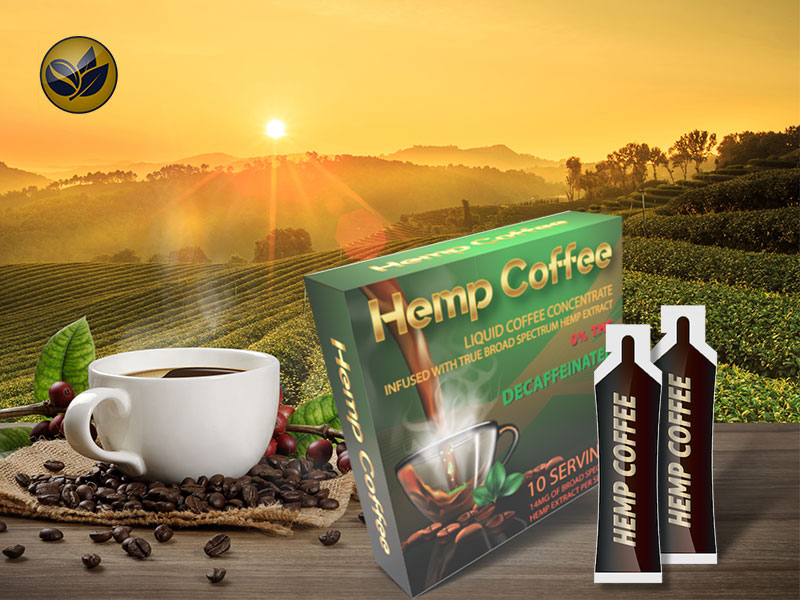 Hemp Coffee - Decaffeinated